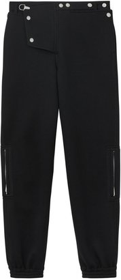 Burberry Press-stud Detail Neoprene Trousers