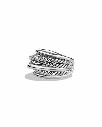 David Yurman Crossover Narrow Ring $350 thestylecure.com