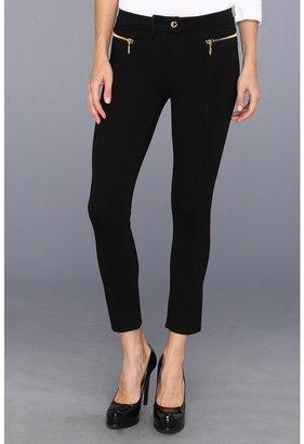 Juicy Couture Riley Ponte Pant (Pitch Black) - Apparel