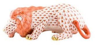 Herend Lion Figurine