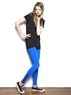 LnA Zipper Leggings in Many Colors -