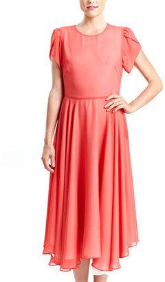 Karen Zambos Addie Dress Coral