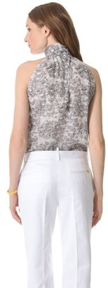 DSquared Dsquared2 Bow Short Sleeveless Blouse