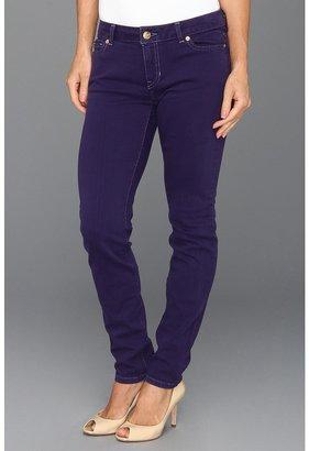 MICHAEL Michael Kors Jewels Denim Colored Skinny Jean (Iris) - Apparel