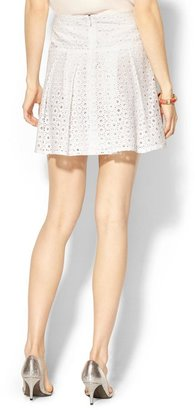 Pim + Larkin Eyelet Circle Skirt