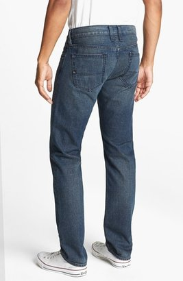Quiksilver 'Distortion' Slim Straight Leg Jeans (Modern Indigo)