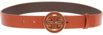 Tory Burch 'Amanda' logo belt