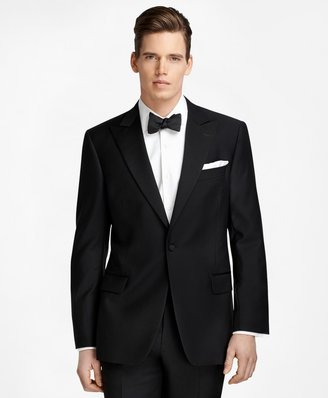 Brooks Brothers Regent Fit One-Button Peak Lapel Tuxedo