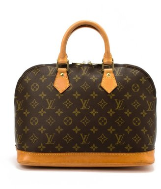 Louis Vuitton Pre-Owned: brown monogram canvas 'Alma' bag