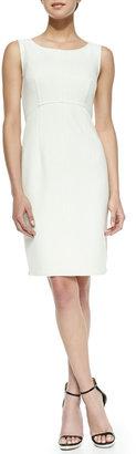 Milly Multi-Zip Sleeveless Sheath Dress