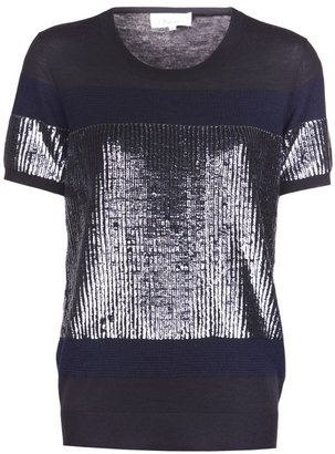 3.1 Phillip Lim sequined knit top