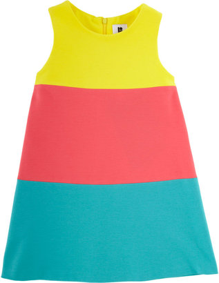Lisa Perry Sleeveless Color Block Dress