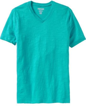 Old Navy Men's Slub-Knit V-Neck Tees