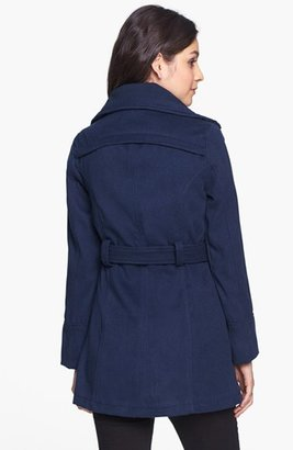 Dollhouse Belted Coat (Juniors) (Online Only)