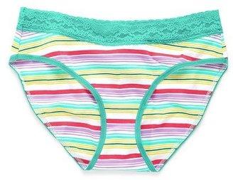 Victoria's Secret Cotton Lingerie Lace-waist Brief Panty