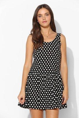 Babydoll Coincidence & Chance Polka Dot Drop-Waist Dress