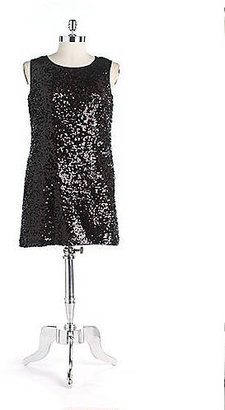 Nine West Sequin Shift Dress