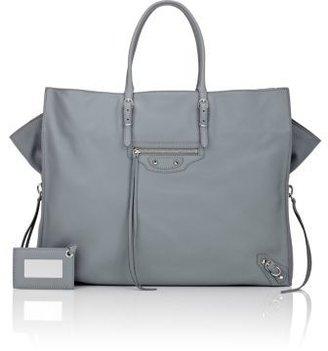 Balenciaga Women's Papier A4 Tote-GREY $1,835 thestylecure.com