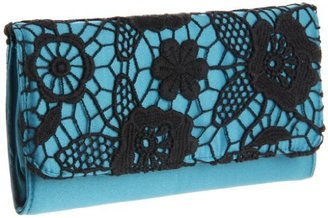 Magid 6707 Clutch,Teal/Black,One Size