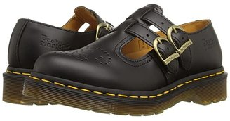 Dr. Martens 8065 (Black Smooth) Women's Maryjane Shoes