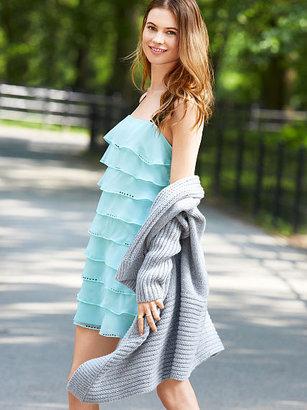 Victoria's Secret Ruffle Shift Dress