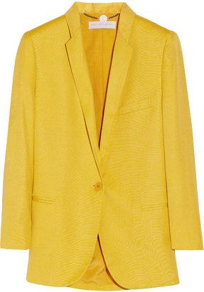Stella McCartney Michelle slub-woven blazer