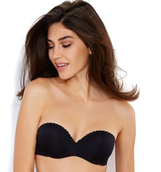 Lily of France Bras: Gel Touch Strapless Push-Up Bra 2111121