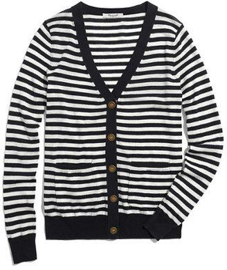 Madewell Travel Cardigan in Stripe