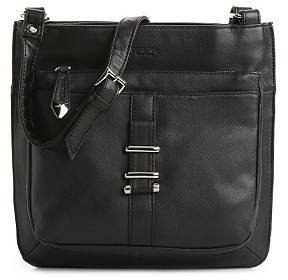 Perlina Marla Leather Cross Body Bag