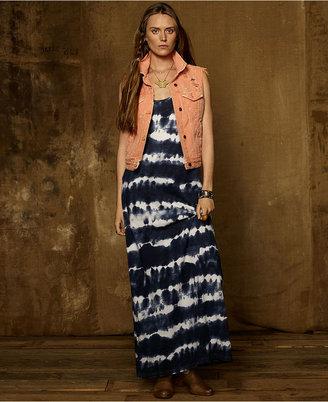 Denim & Supply Ralph Lauren Dress, Sleeveless Tie-Dye Maxi