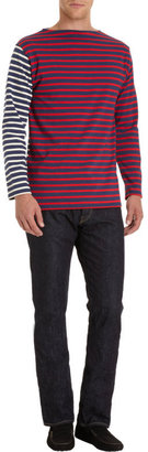 Barneys New York Saint James x Striped Long Sleeve Tee