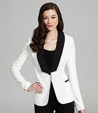 Aryn K Two-Tone Tuxedo Jacket