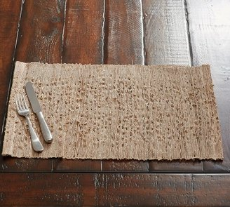 Pottery Barn Nubby Woven Placemat