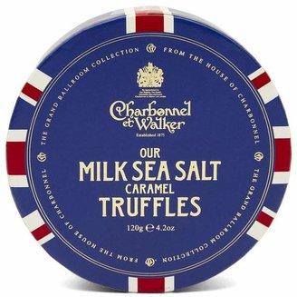 Charbonnel et Walker Union Flag Milk Sea Salt Caramel Truffles 120G