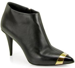 Giuseppe Zanotti 137095 - Leather Booties in Black
