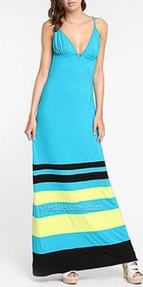 eDressMe Stripe Maxi Dresses