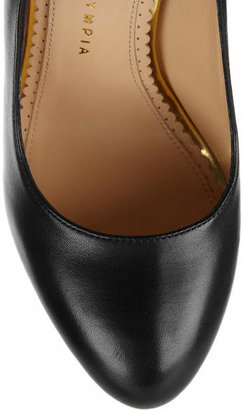 Charlotte Olympia The Dolly Leather Platform Pumps - Black