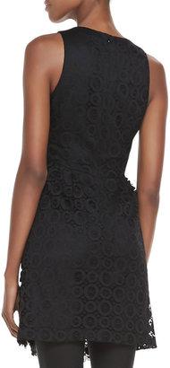 Nanette Lepore Emotions Sleeveless Lace Dress