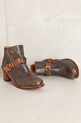 Anthropologie Standoff Belted Boots