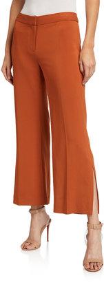 Kobi Halperin Angie Side-Slit Cropped Pants