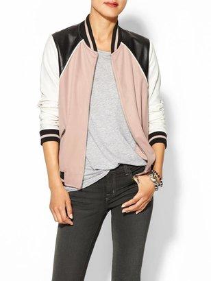Juicy Couture Hive & Honey Varsity Colorblock Jacket