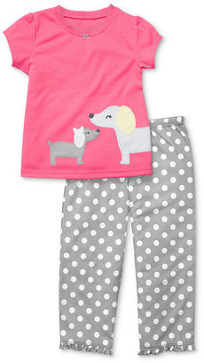 Carter's Baby Pajamas, Baby Girls 2-Piece Short-Sleeved Shirt and Pants