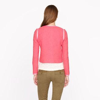 J.Crew Coral tweed jacket