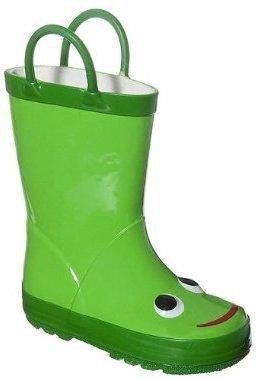 Kids' Uda Frog Rain Boots - Green
