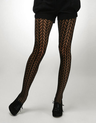 Asos Mary-Kate Olsen Oversized Pattern Tights