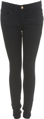 Topshop MOTO Navy Leigh Ankle Grazers