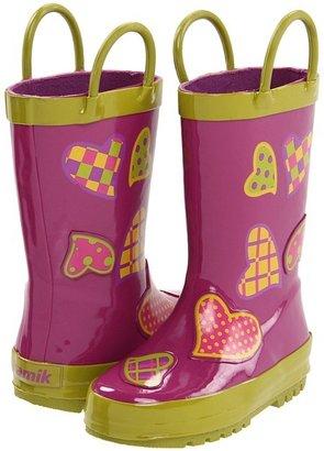 Kamik Crush (Toddler/Little Kid) (Dark Pink) - Footwear
