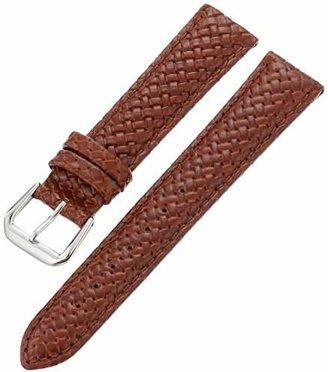 Hadley Roma Hadley-Roma Men's MSM843RR-180 18mm Genuine Leather Watch Strap