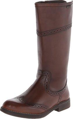 Geox Girls Agata B Biker Boots J4449B Coffee 12.5 UK Child 31 EU
