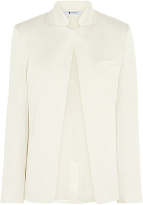 Alexander Wang Brushed-satin blazer